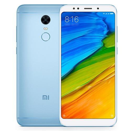 "Смартфон Xiaomi Redmi 5 Plus 4/64GB Blue, 8 ядер, 12/5Мп, 6"" IPS, 2SIM, 4G, 4000мА"