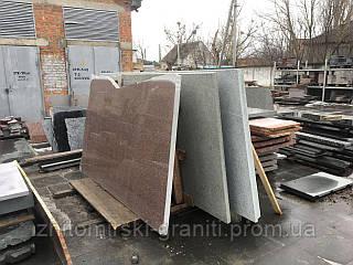 Гранітна плита сляб з Жадківського (Корецького) граніту