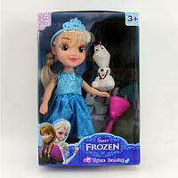 Кукла Frozen со снеговиком, музыкальная, в коробке (ОПТОМ) Кукла 008-4