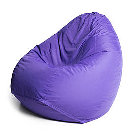 Кресло мешок груша с внутренним чехлом   Ткань Oxford XXL (Высота 130 см, ширина 90 см), Фиолетовый