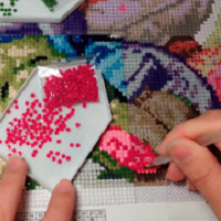 Алмазная вышивка как делать