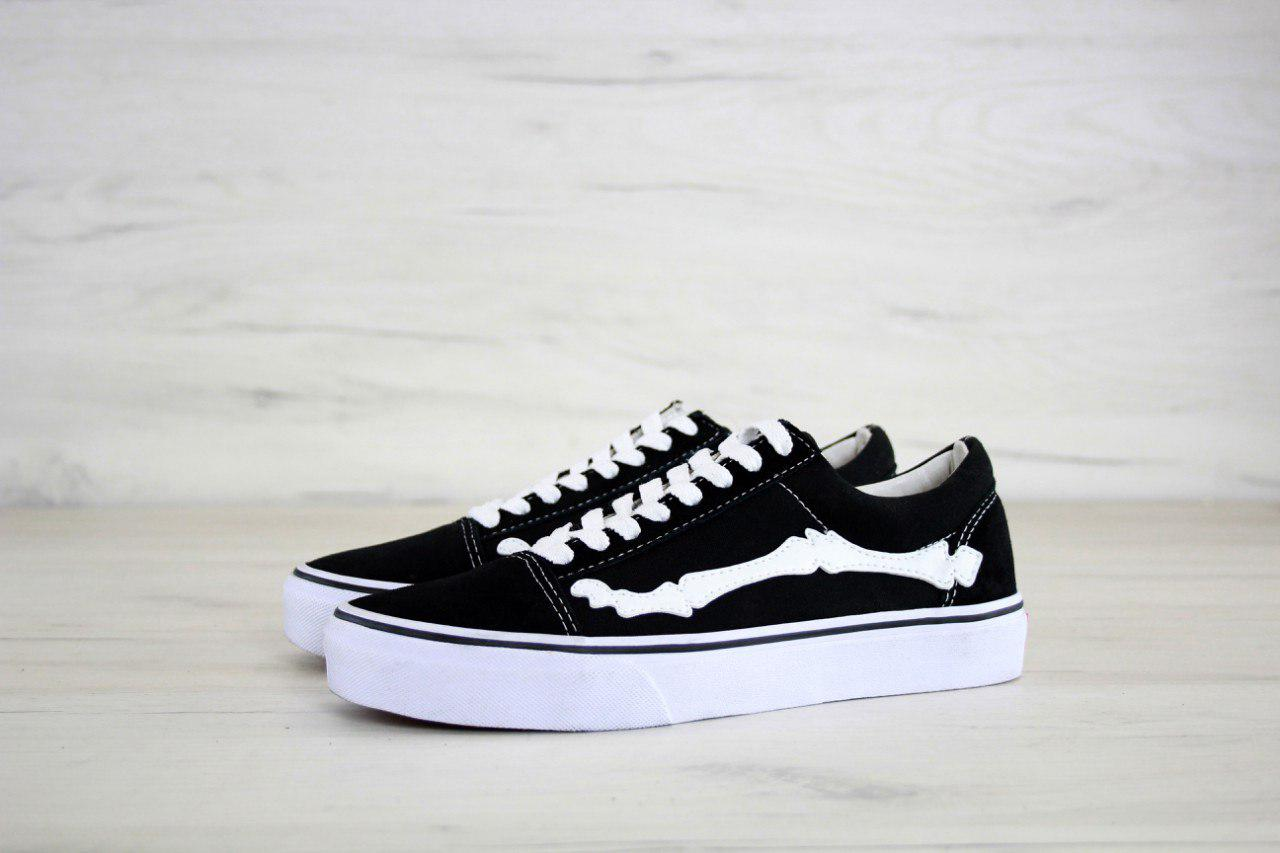 ... Vans X Blends Vault Old Skool Zip LX Bones Jazz Stripe Black   кеды  женские и 7dd2f7fcf0b
