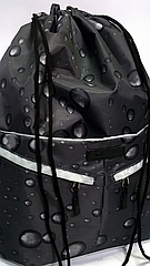 Рюкзак мешок спортивный Капля чёрный
