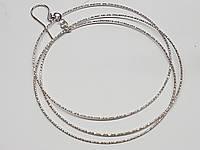 Срібні сережки з алмазною гранню. Артикул 902-00986, фото 1