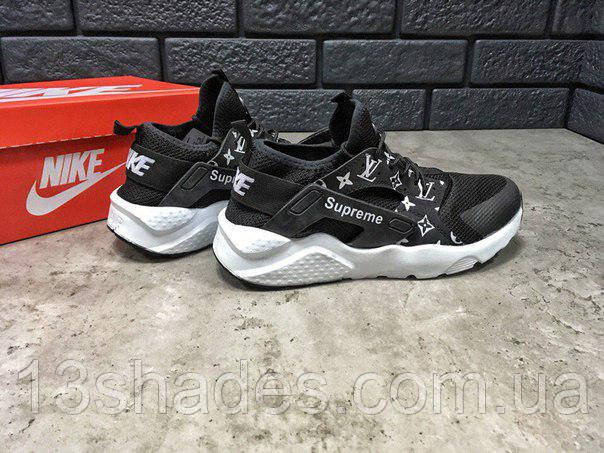 Кроссовки мужские Supreme X Louis Vuitton X Nike Air Huarache -  Интернет-магазин