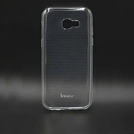 Чехол накладка для Samsung Galaxy A5 2017 A520 силиконовый IPAKY, Прозрачный