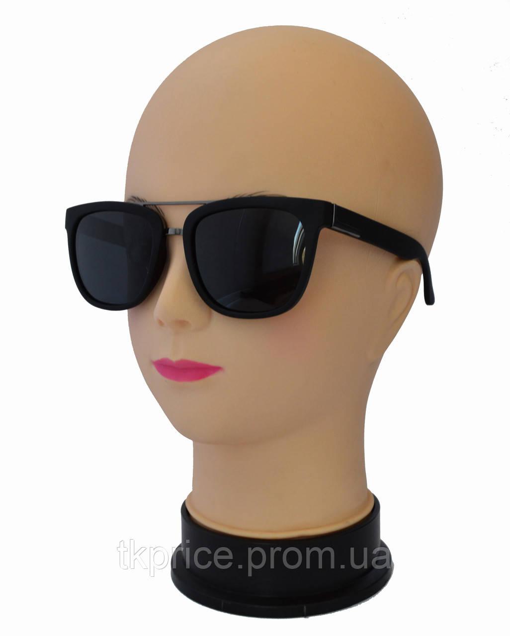 Мужские поляризационные солнцезащитные очки матовые