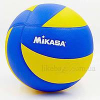 Мяч волейбольный Клееный PU MIK VB-1843 MVA-200