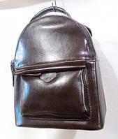 Рюкзак  из натуральной кожи  цвет кофе