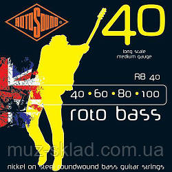 Струны Rotosound RB40