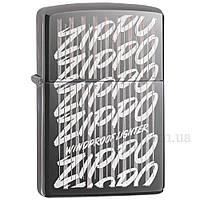 Зажигалка zippo 29631 Zippo Lighter 2018 Black Ice, фото 1