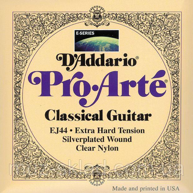 Струны для классической гитары D`ADDARIO EJ44 PRO-ARTE EXTRA-HARD TENSION