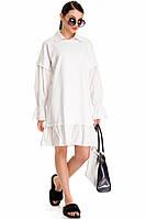 Белое платье normcore