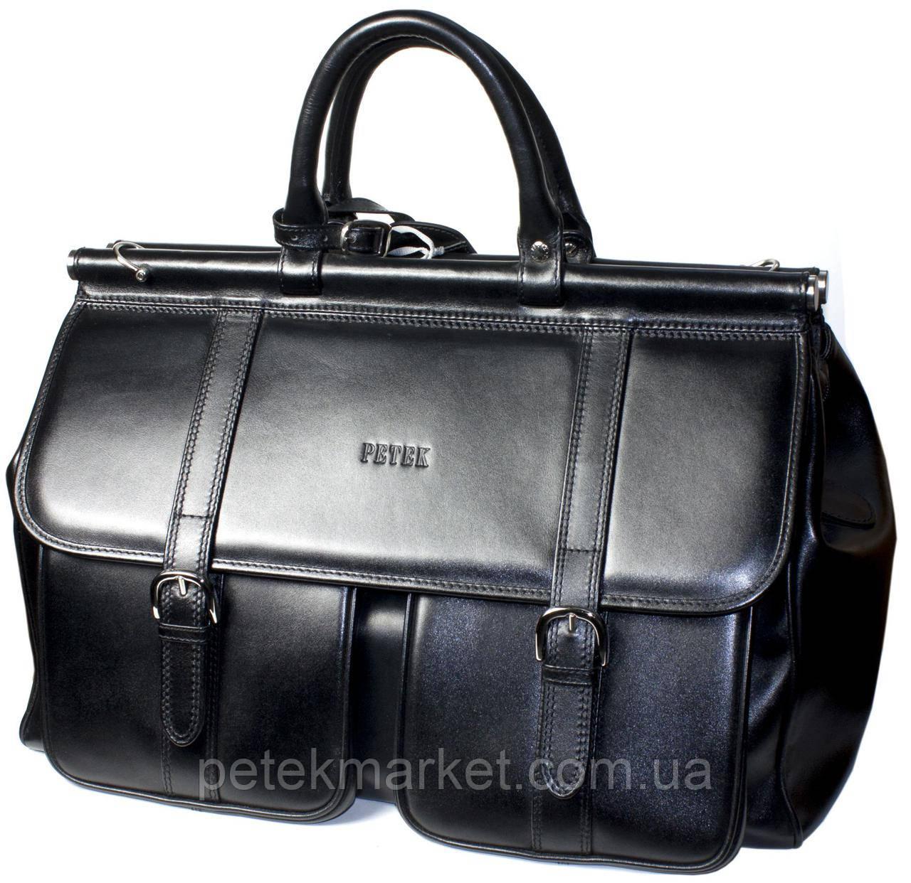 Саквояж PETEK 3815 Черный (3815-000-01)