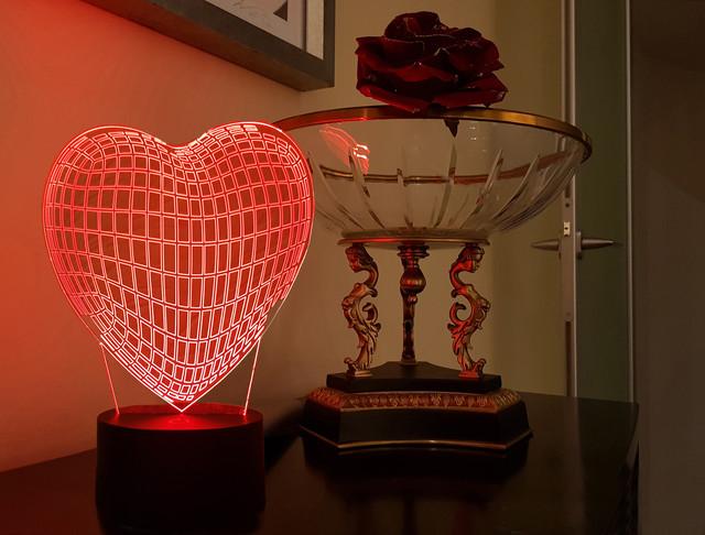 """3D светильники """"Романтика"""""""