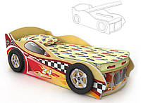 Кровать-машинка под матрас 800х1500 Dr-10-80mp Driver  (с подъемным механизмом)