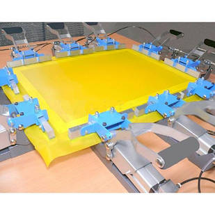 Пневматическое устройство для изготовления трафаретных форм ( натяжение сита на раму)