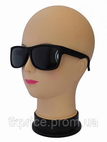 Мужские поляризационные солнцезащитные очки матовые, фото 2