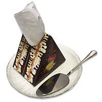 Серветки паперові «Шоколадний торт», фото 1