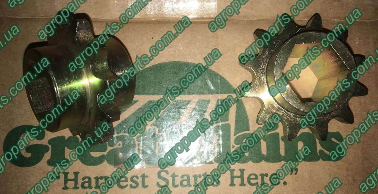 Звездочка 808-219C  z12 Great Plains SPKT 40C12 X 7/8 HEX BORE Грей Плейн 808-219с