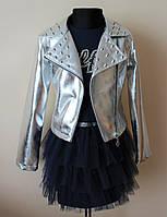 Нарядное платье с пиджаком на девочку 128размер, фото 1