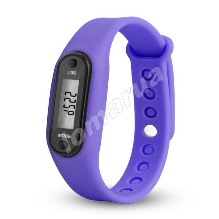 Фитнес браслет часы шагомер счетчик калорий II  Lilac