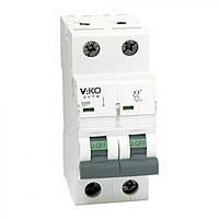 Автомат 2 фазный Viko С25