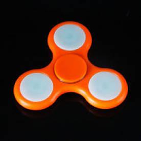 Spinner Спиннер Светящийся, оранжевый