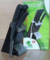 Набор ножей 6 в 1 GREEN LIFE GL-C0085