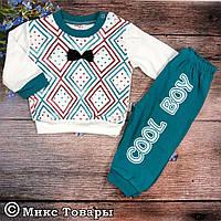 Костюм с брюками для малыша Размеры: 9,12,18 месяцев (6239-1)