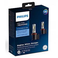 Лампы светодиодные PHILIPS 12794UNIX2 X-tremeUltinon +200% LED Fog H8/H11/H16 X2