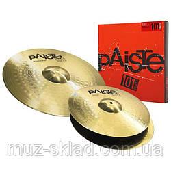Набор тарелок для барабанов Paiste 101 Brass Universal Set
