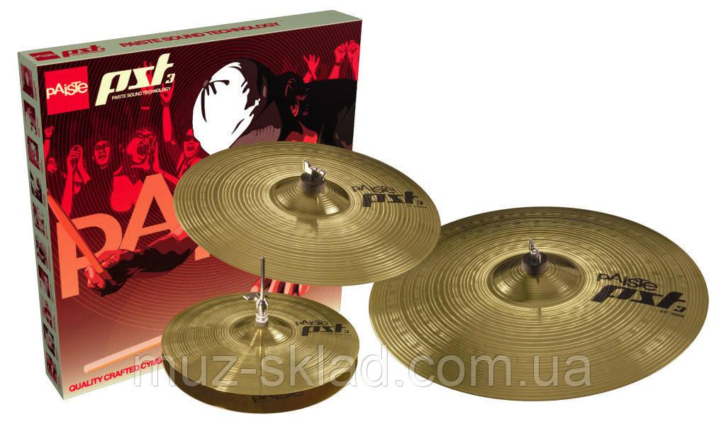 Набор тарелок для барабанов Paiste PST 3 Universal Set