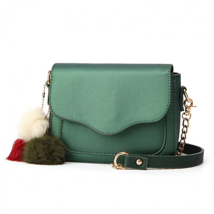 Сумка женская Hag Mini зелёная eps-6037