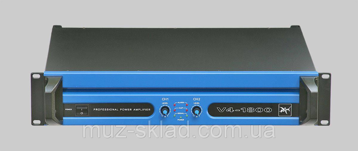 Park Audio V4-1800 МК II усилитель мощности, 2 х 900 Вт, 4 Ом