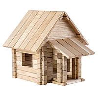 Деревянный конструктор Загородный дом 4 в 1, фото 1