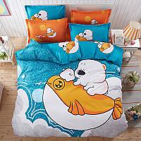 Комплект постельного белья Arctic Friends (полуторный)