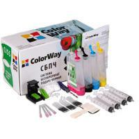 Системы непрерывной и перезаправляемой подачи чернил ColorWay MP240CN-4.1NC