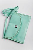 Клатч женский пастельных оттенков 000K081 (Мятный)