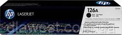 Картридж HP CLJ  126A black, для CP1025 (CE310A)