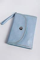 Клатч женский пастельных оттенков 000K081 (Голубой)