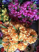 Букеты Искусственные цветы разные цвета в упаковке, фото 1