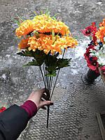 Искусственные цветы разные цвета в упаковке Букеты