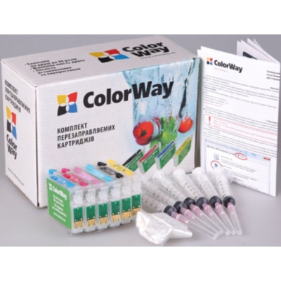 Системы непрерывной и перезаправляемой подачи чернил ColorWay P50RC-6.1