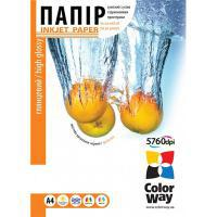 Бумага для принтера/копира ColorWay Бумага ColorWay A4 (PG230020A4) [230 г, 20 л., глянец, водостойкая, картон.пак]