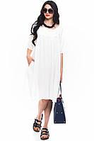 Женское льняное платье Pronto Moda