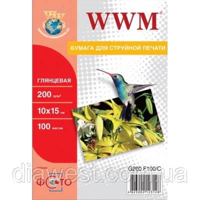Бумага для принтера/копира WWM G200.F100/G200.F100/C