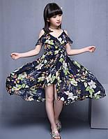 Стильне, легке плаття на літо для дівчаток