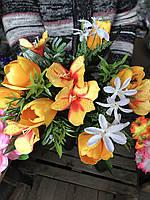 Тюльпаны Искусственные цветы разные цвета в упаковке Букеты