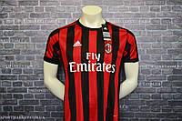 Футбольная форма Милан домашняя 2017-2018 оригинальное качество
